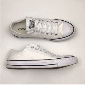 Converse Texture Lace Up Sneakers